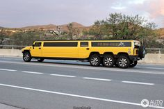 Hummer H2 8 Wheeler Super Stretched Limousine 6 Hummer Cars, Hummer Truck, Hummer H2, Chrysler Limousine, Limousine Car, Big Monster Trucks, Limo Party, Mercedes Truck, Suv Cars
