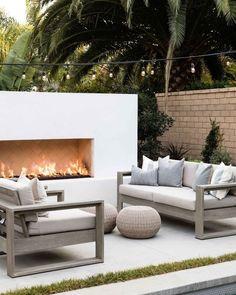 Backyard Furniture, Backyard Patio, Backyard Landscaping, Backyard Seating, Outdoor Furniture, Patio Design, Exterior Design, Outdoor Rooms, Outdoor Decor