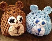 Newborn Bear Hats