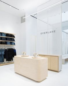 Leong Leong interprets Everlane's radical transparency in-store - News - Frameweb