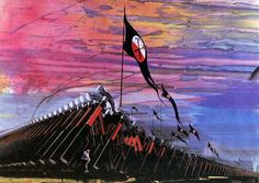 Gerald Scarfe - Iconic Marching Hammers