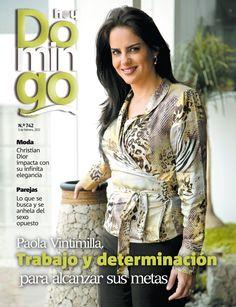 Paola Vintimilla, presentadora de TV