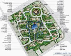 JiaLi Pearl, Shanghai, Landscape Master Plan by P&H International Architecture Co, Canada