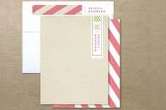 First Class Personalized Stationery