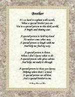 Special Brother Poem