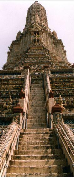 Wat Arun, is a Buddhist temple in Bangkok Yai district of Bangkok, Thailand
