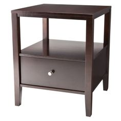 Staten End Table With Drawer