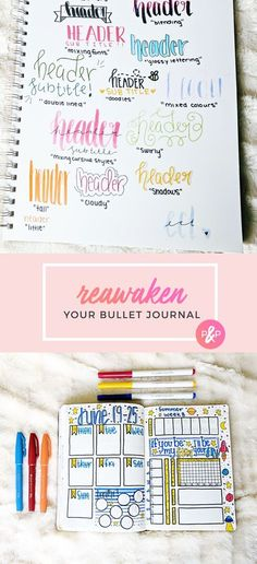 Reawaken Your Bullet Journal http://productiveandpretty.com/reawaken-your-bullet-journal/?utm_campaign=coschedule&utm_source=pinterest&utm_medium=Jennifer%20Grayeb&utm_content=Reawaken%20Your%20Bullet%20Journal