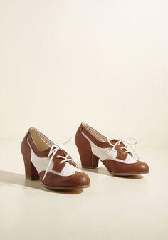 B.A.I.T. Footwear Nostalgic Sass Oxford Heel | ModCloth