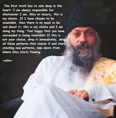 Soho quote. You can only control your self and your reactions. Osho Quotes On Life, Yoga Quotes, Wisdom Quotes, Quotes To Live By, Positive Quotes, Me Quotes, Change Quotes, Strong Quotes, Attitude Quotes