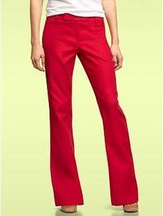 I love red pants!