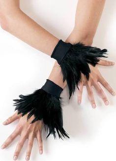 feather wrist cuffs - Google Search