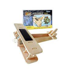 3D drvene solarne puzzle avion, Bip