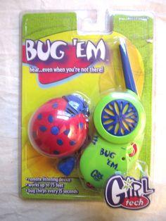 Radica Girl Tech Bug 'Em
