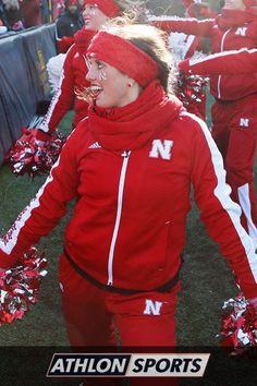 Nebraska cheerleader