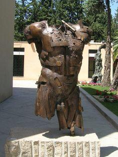 Scultura in bronzo patinato Akrai Gea di Gunther Stilling. - Fonderia Art'ù di Gaetano Salmista - скульптура