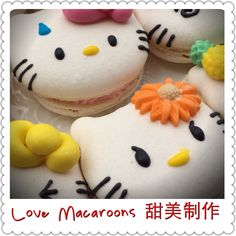 https://www.facebook.com/timmymacaroons ⭐️Cute Macaron⭐by Love Macaroons⭐️Hello Kitty 吉蒂 馬卡龍