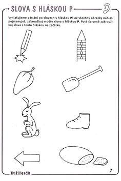 Hláska P Paper Birds, Kids Learning Activities, Kids Education, Preschool, Early Education, Infant Learning Activities, Kid Garden, Kindergarten, Preschools