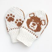 Ravelry: Baby Teddy pattern by Tonje Haugli Knitted Mittens Pattern, Knit Mittens, Baby Knitting Patterns, Mitten Gloves, Knitted Hats, Crochet Patterns, Foster Baby, Cross Stitch Pattern Maker, Baby Mittens