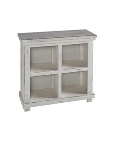 Willow Casual White Wood 32 Inch Shelves Bookcase