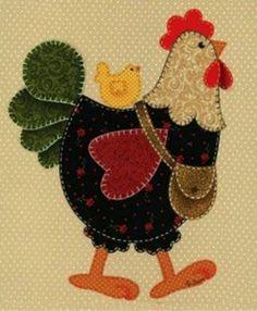 Gallina con pollito