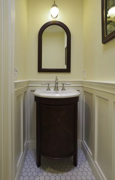 A growing family - traditional - powder room - san francisco - Mahoney Architects & Interiors