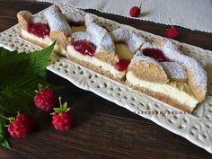 Raspberrybrunette: Tvarohový mrežovník z orechového cesta Potato Wedges, Sponge Cake, Home Recipes, International Recipes, Sweet Recipes, Waffles, Cheesecake, Deserts, Goodies