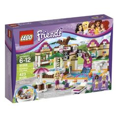 Compare prices on LEGO Friends Set Heartlake City Pool from top online retailers. Save money on your favorite LEGO figures, accessories, and sets. Lego Building Table, Building Toys, Toys R Us, Legos, Figurine Lego, Lego Friends Sets, Friends Girls, Diving Board, Buy Lego