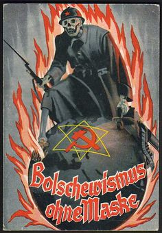 """German Propaganda : This poster says """"Those who forget History are destined to repeat it"""". Maybe the Germans want to be remembered forever throughout history.  German propaganda. (n.d.). Retrieved from http://www.vermontphilatelic.com/German_Propaganda.htm"""