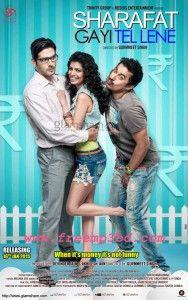 New Hindi Movie Sharafat-Gayi-Tel-Lene-2015 mp3 songs free download images poster