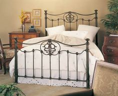 official wesley allen website featuring iron beds iron bed frames and iron furniture