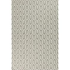 Fallon Geometric Dove Gray Rug