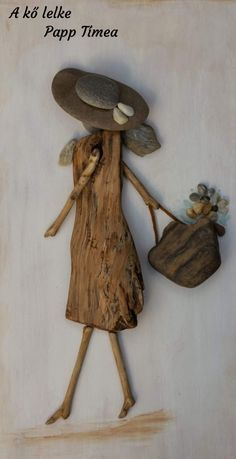 16 Ideas For Pine Tree Tattoo Guy - Tree Tattoos Driftwood Wall Art, Driftwood Projects, Driftwood Sculpture, Stone Pictures Pebble Art, Stone Art, Stone Crafts, Rock Crafts, Rock Sculpture, Decoration Originale
