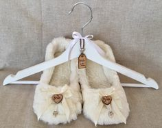 Personalised wedding slippers perfect for your wedding reception to ...