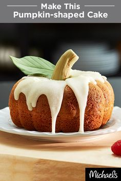 Best Pumpkin Shaped Cake Pan Recipe On Pinterest