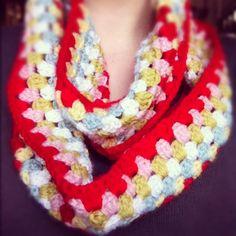 Tutorial for Cath Kidston Crochet Cowl @ inverleith