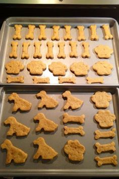 URBAN BAKES - Peanut Butter Dog Biscuits - URBAN BAKES