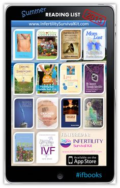 No Maybe Baby: Infertility Summer Reading List