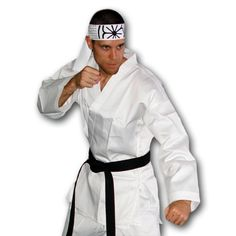 Adult Karate Costume now available from http://www.karatemart.com