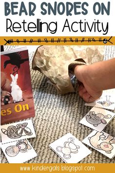 These retelling activities are ideal for providing hands on lessons in kindergarten and first grade. Each retelling activity is based on a book to provide opportunities for practicing reading strategies.  #kindergarten #retelling #fall