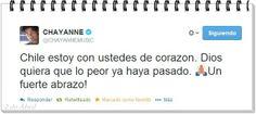APOYO A CHILE POR EL TERREMOTO DEL NORTE