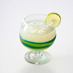 Fresh Lime Margaritas - Very fresh tasting! The juice of one lime and one lemon produced about the correct amount of juice. Very fast to assemble.