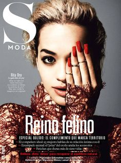 Rita Ora Rocks Leather And Lace For 'S Moda' Magazine | MTV Style