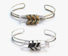 chevron cuff bracelet from tomtom jewelry