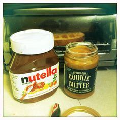 nutella + cookie butter