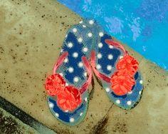 Flip Flop Flutterby by Catherine Redmayne on Etsy