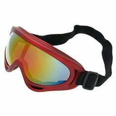 Ski Snowboard Skate Sports Goggles Glasses(Larger Red Frame + Color coated Lens) - NV123 by uxcell. $8.06. Comfortable soft foam padding on the inside of the frame; Color coated Snowboard Goggles lens; Colorful Ski Glasses lens enhance contrast, enabling you to make out shapes, objects, and bumps in the snow more clearly because it blocks out the blue, or hazy, end of the color spectrum; Adjustable elastic head strap and helmet make such Snowboard Goggles compatib...