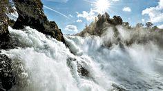 The Rhine Falls/ Dachsen / Neuhausen am Rheinfall  Europe's largest waterfall
