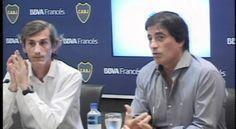 Conferencia de prensa Boca Juniors y BBVA Francés