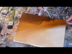 Abstract painting demo - Démonstration peinture abstraite acrylique (20) - Althea - YouTube